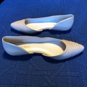 Cream Flats Size 7.5